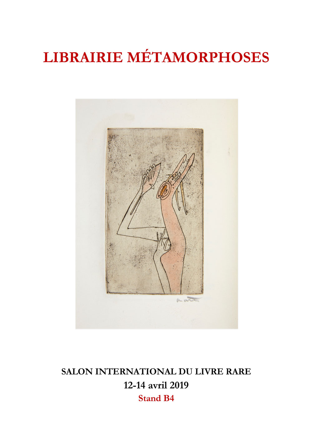 SALON INTERNATIONAL DU LIVRE RARE 2019